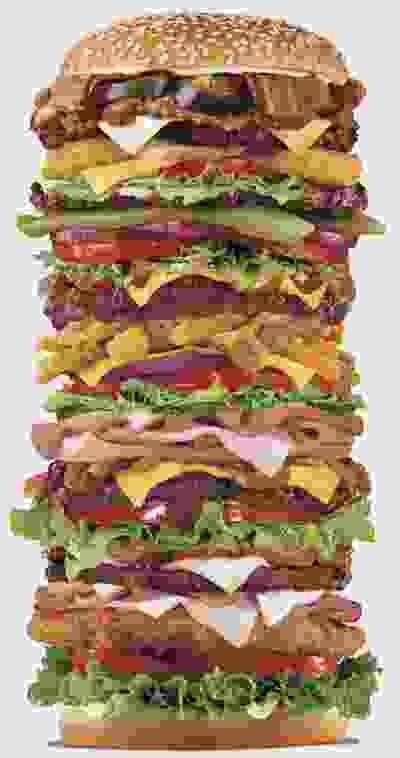 Blason de la Maison The Burger King